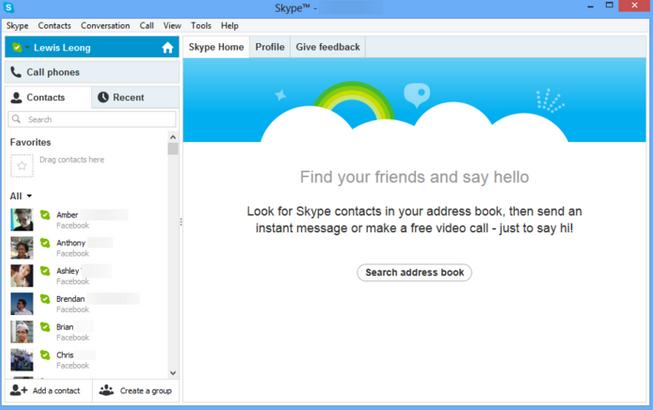 تحميل skype