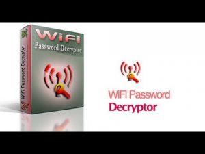 تحميل برنامج معرفه كلمه سر الواى فاى WiFi password decryptor