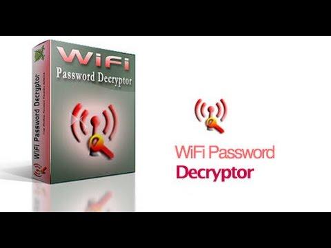 تحميل برنامج wifi password decryptor