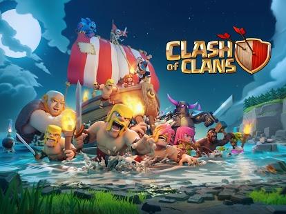 تحميل لعبة clash of clans